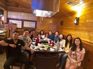 Grad Dinner 2018
